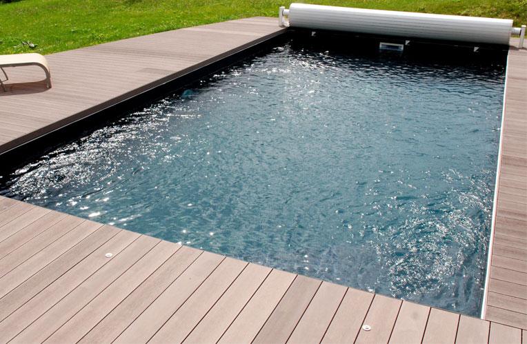 Terrasse bois composite pour piscine ~ Terrasse En Bois Pour Piscine